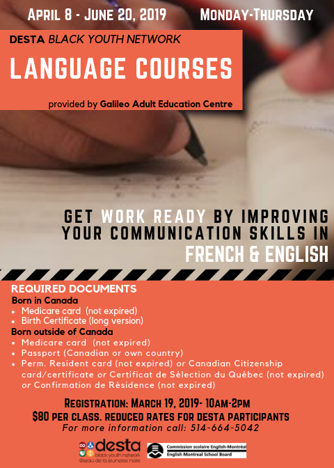 DESTA Language Courses